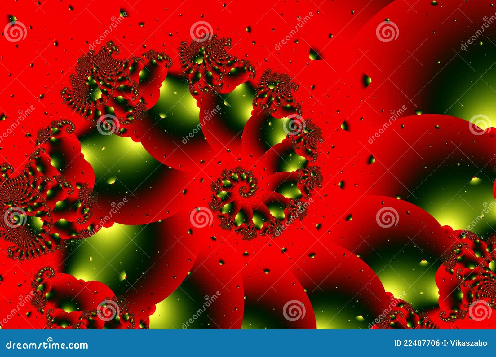 illustration fractal background clocks - photo #33