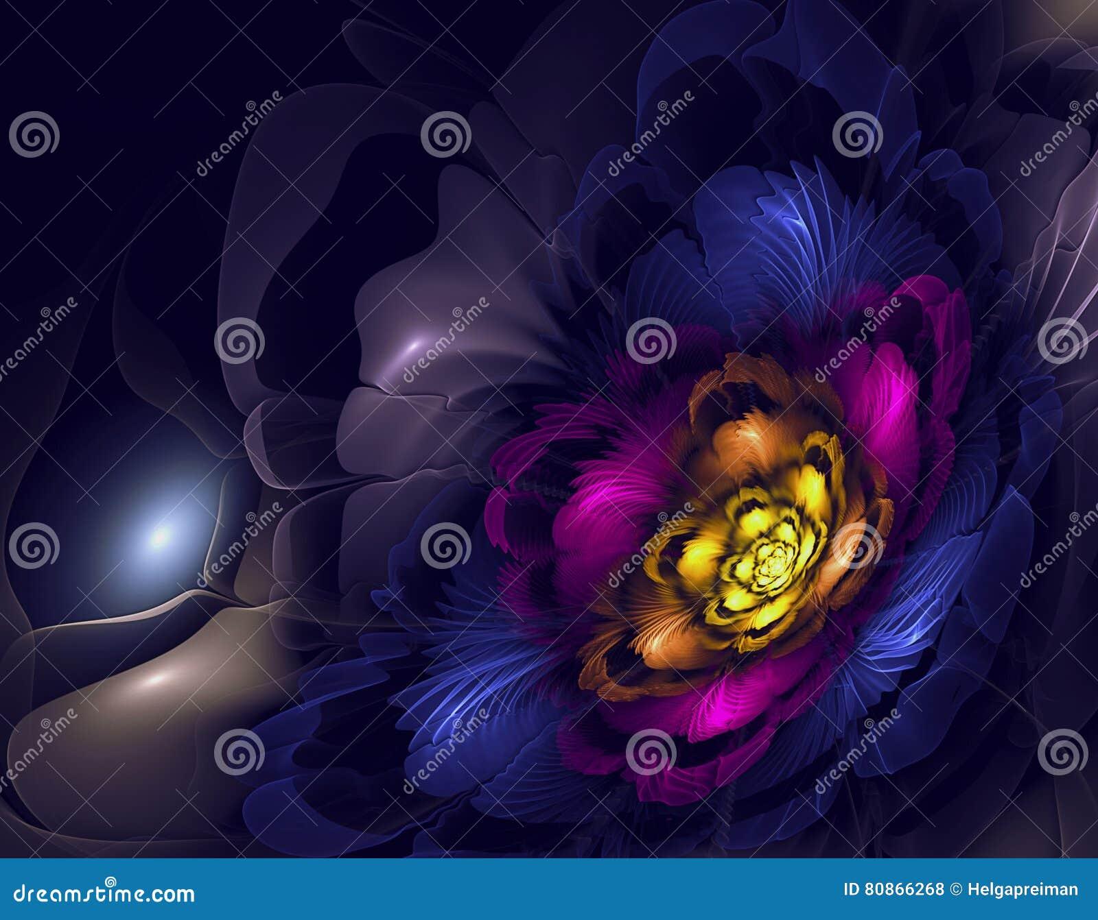 Download Abstract fractal image stock illustration. Illustration of decor - 80866268