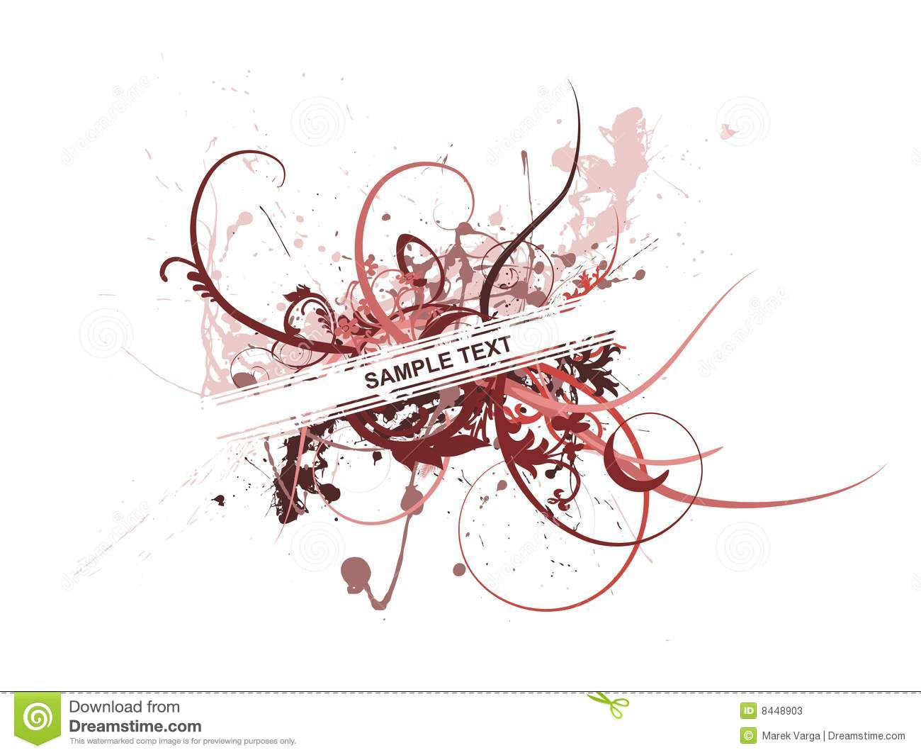 Abstract fresh floral background with of your text