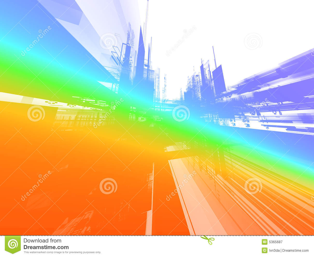 Abstract Future Background Royalty Free Stock Photography
