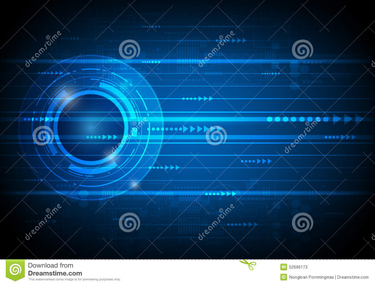 abstract future digital science technology concept stock