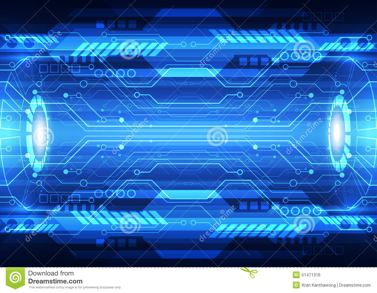 Abstract Future Speed Technology System Background Vector