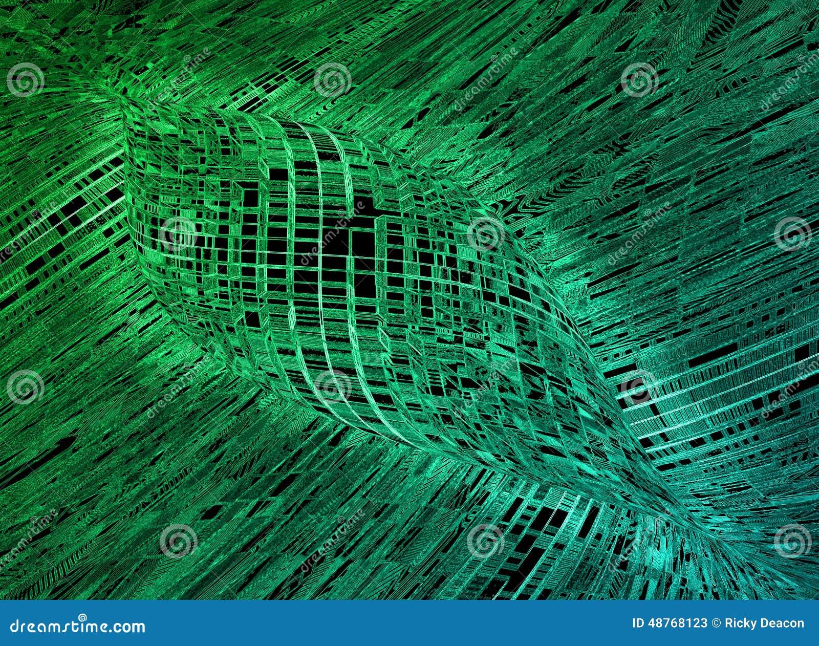 futuristic background stock illustration