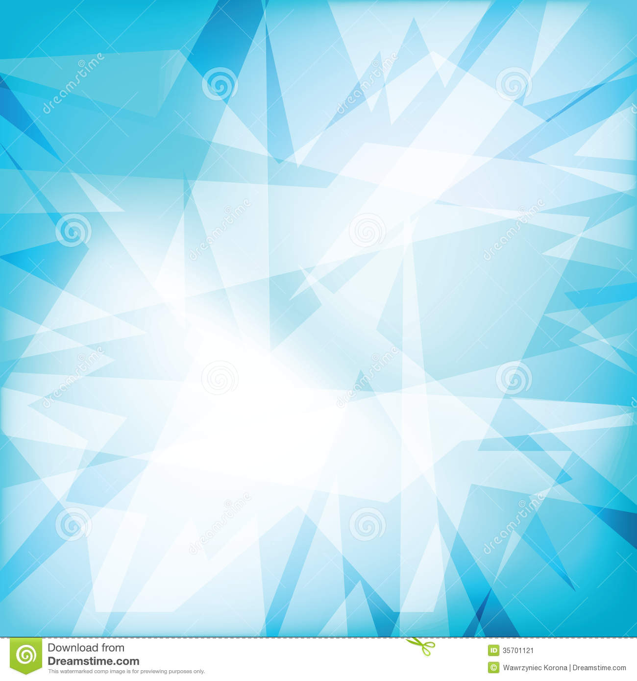 Abstract Futuristy Crystal Background Stock Image - Image: 35701121