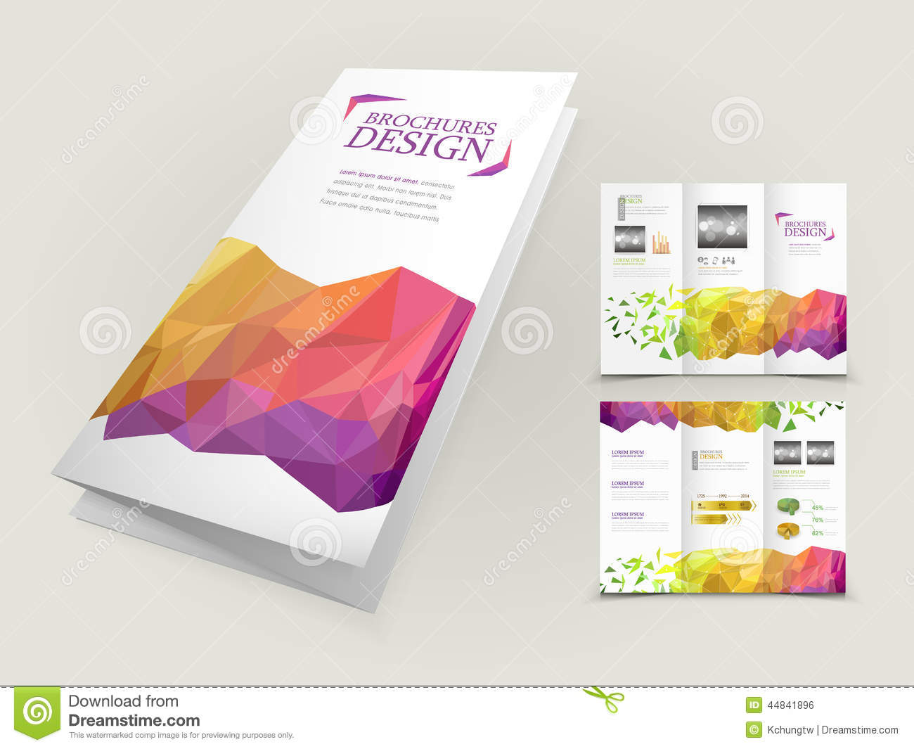 colorful brochure parafalardecasamento com
