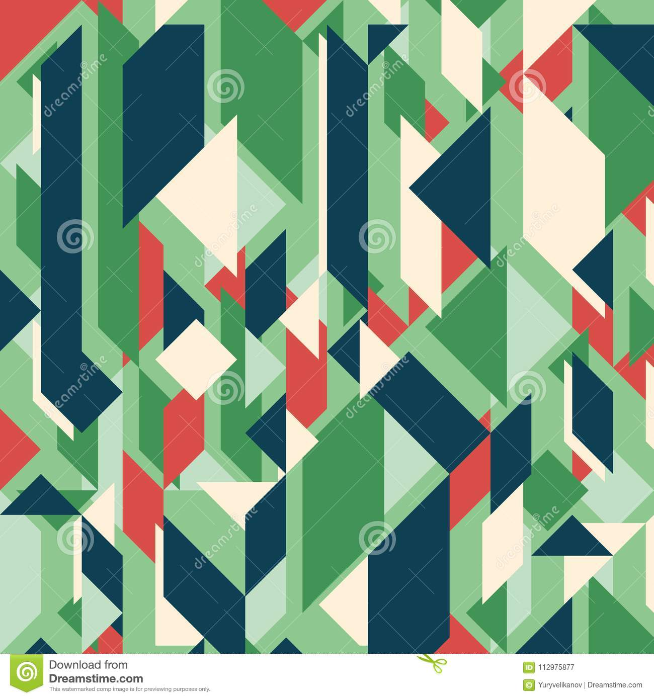 Abstract geometric background. Modern overlapping rectangles and triangles.