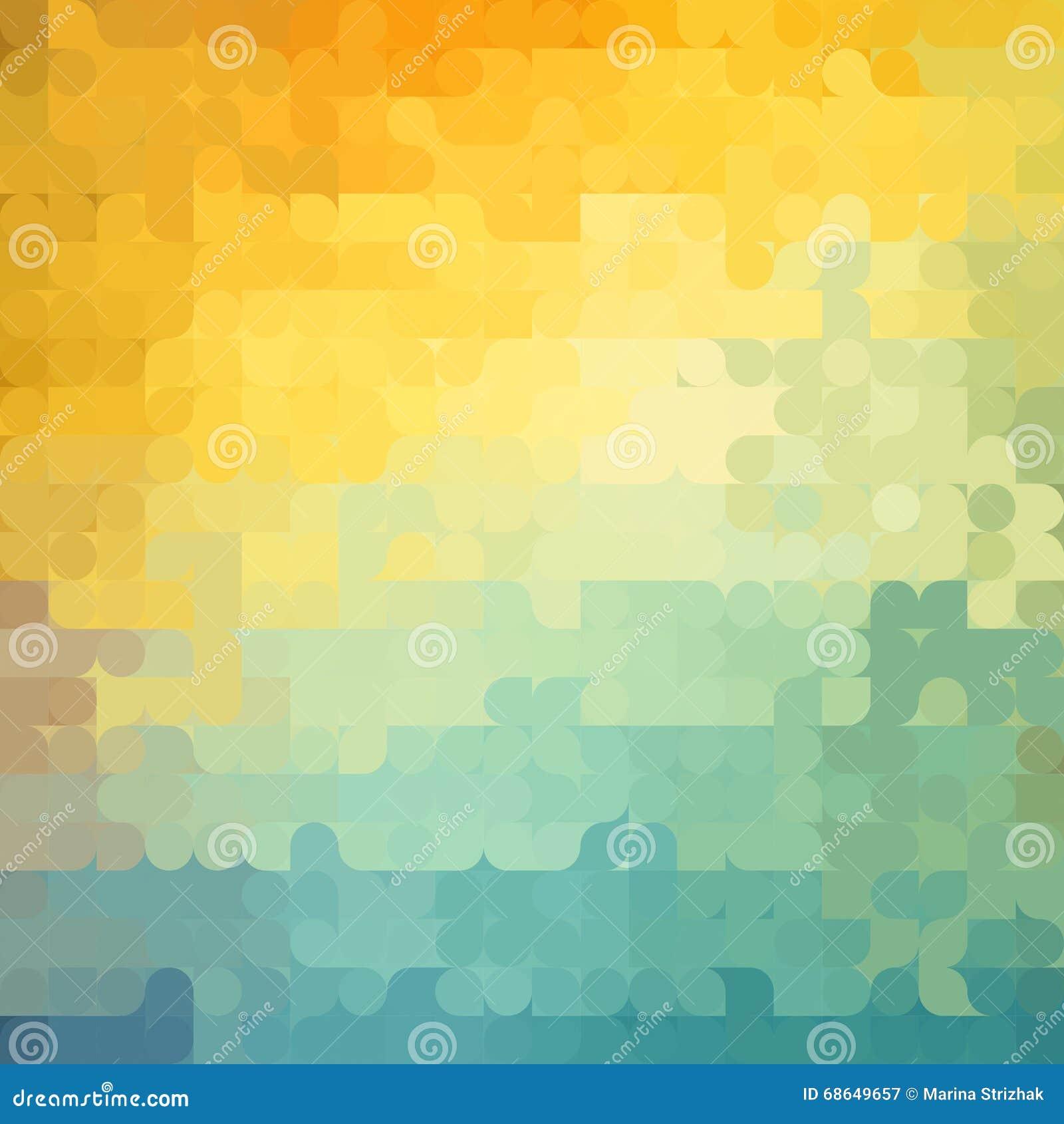 geometric yellow background illustration - photo #20
