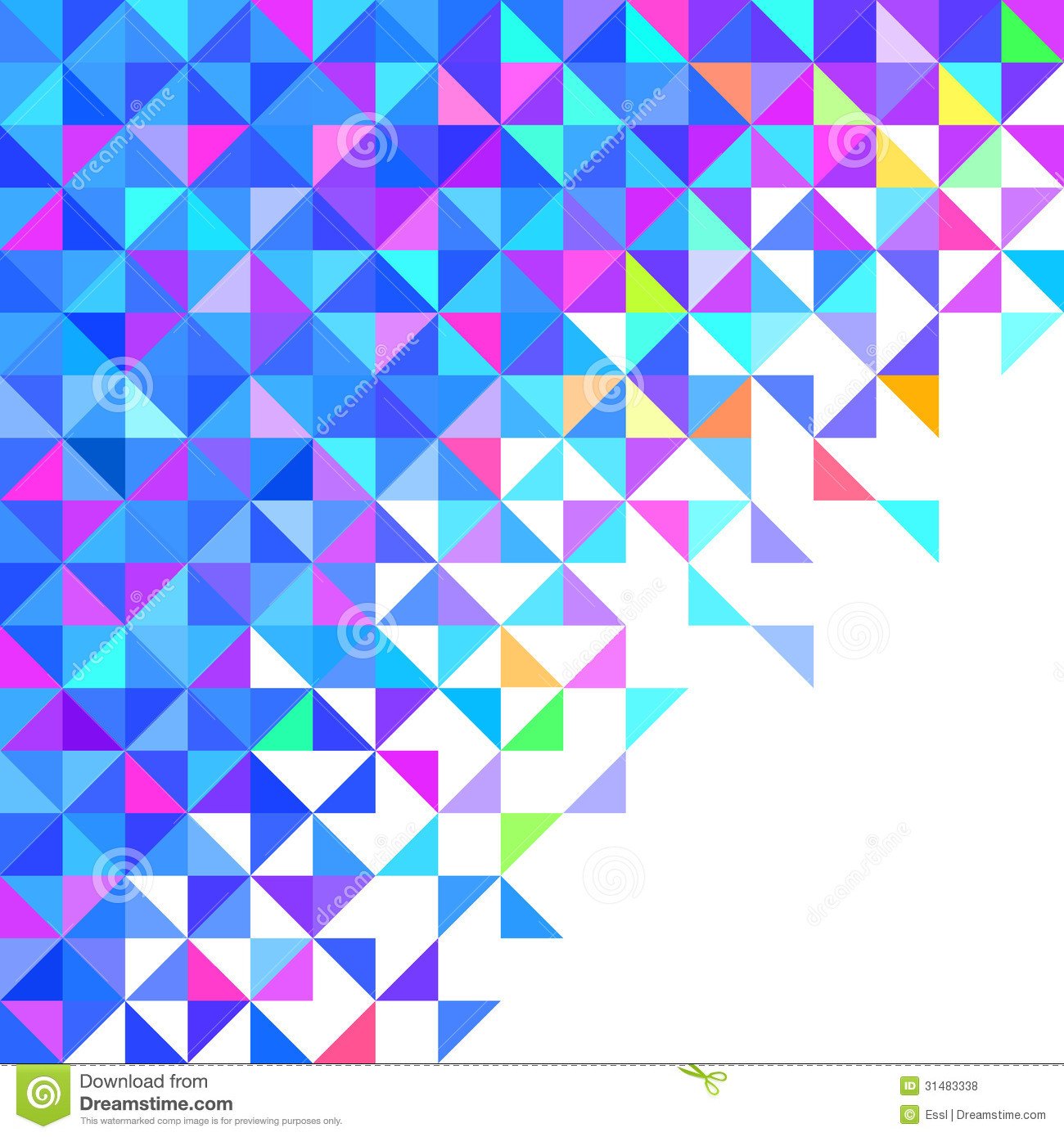 abstract geometric background vector color 31483338