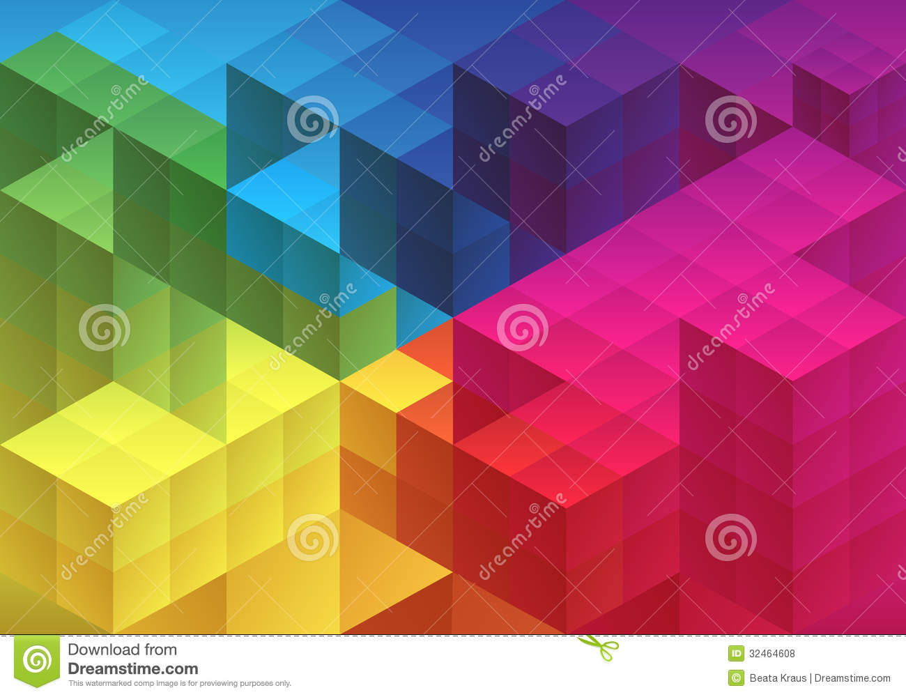 Abstract Geometric Background Vector Royalty Free Stock