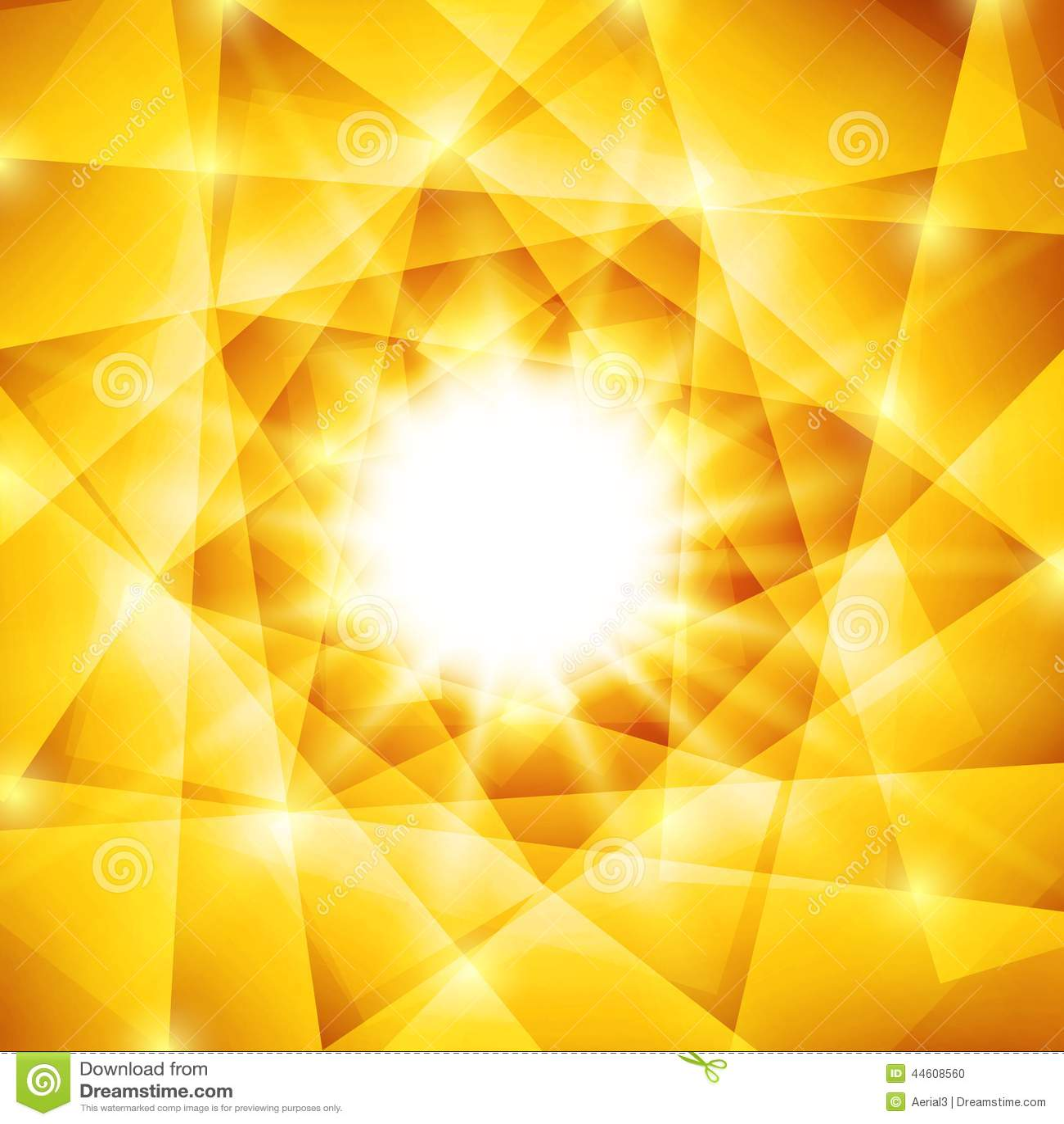 geometric yellow background illustration - photo #46