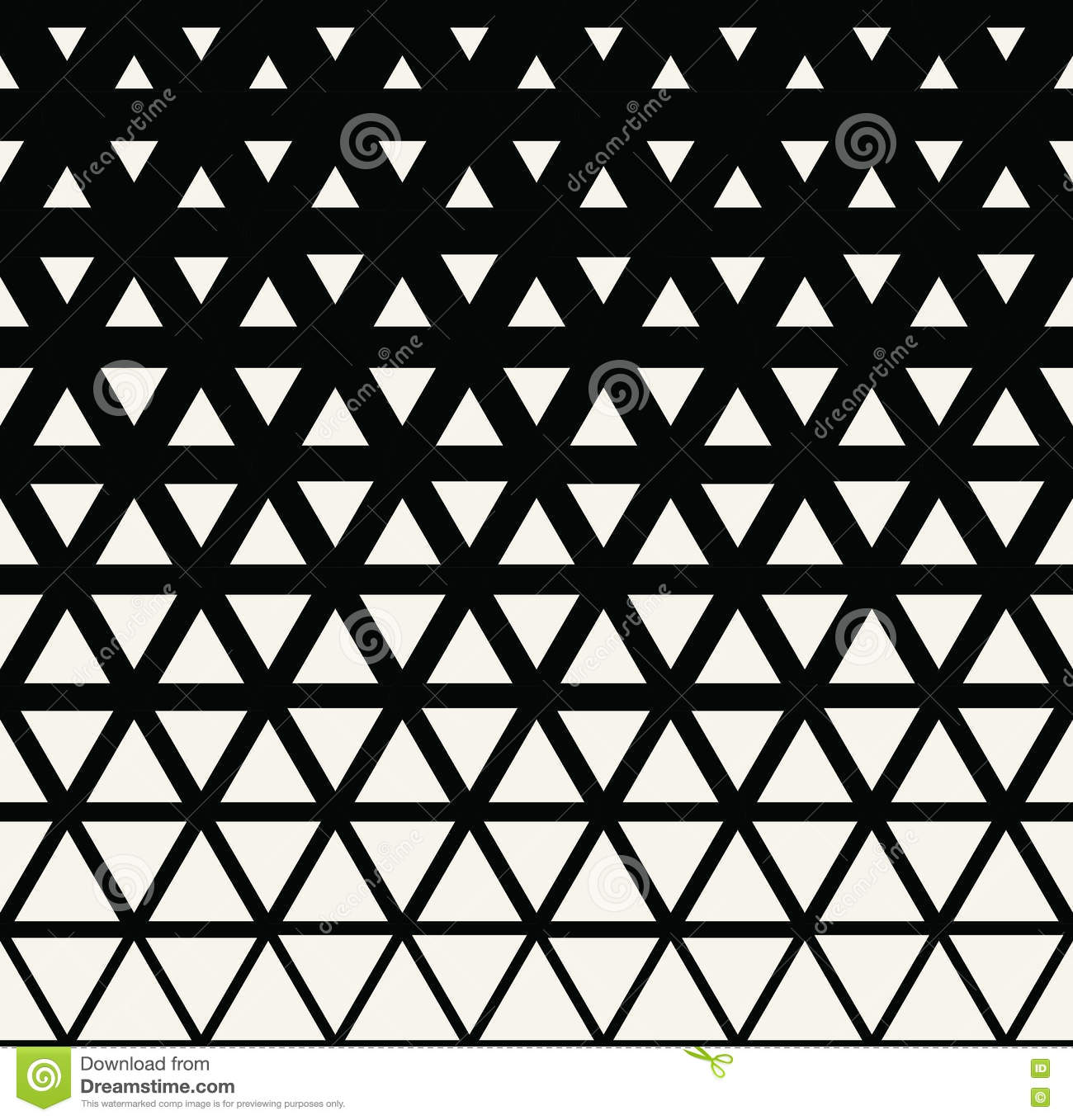 abstract geometric black and white graphic design triangle