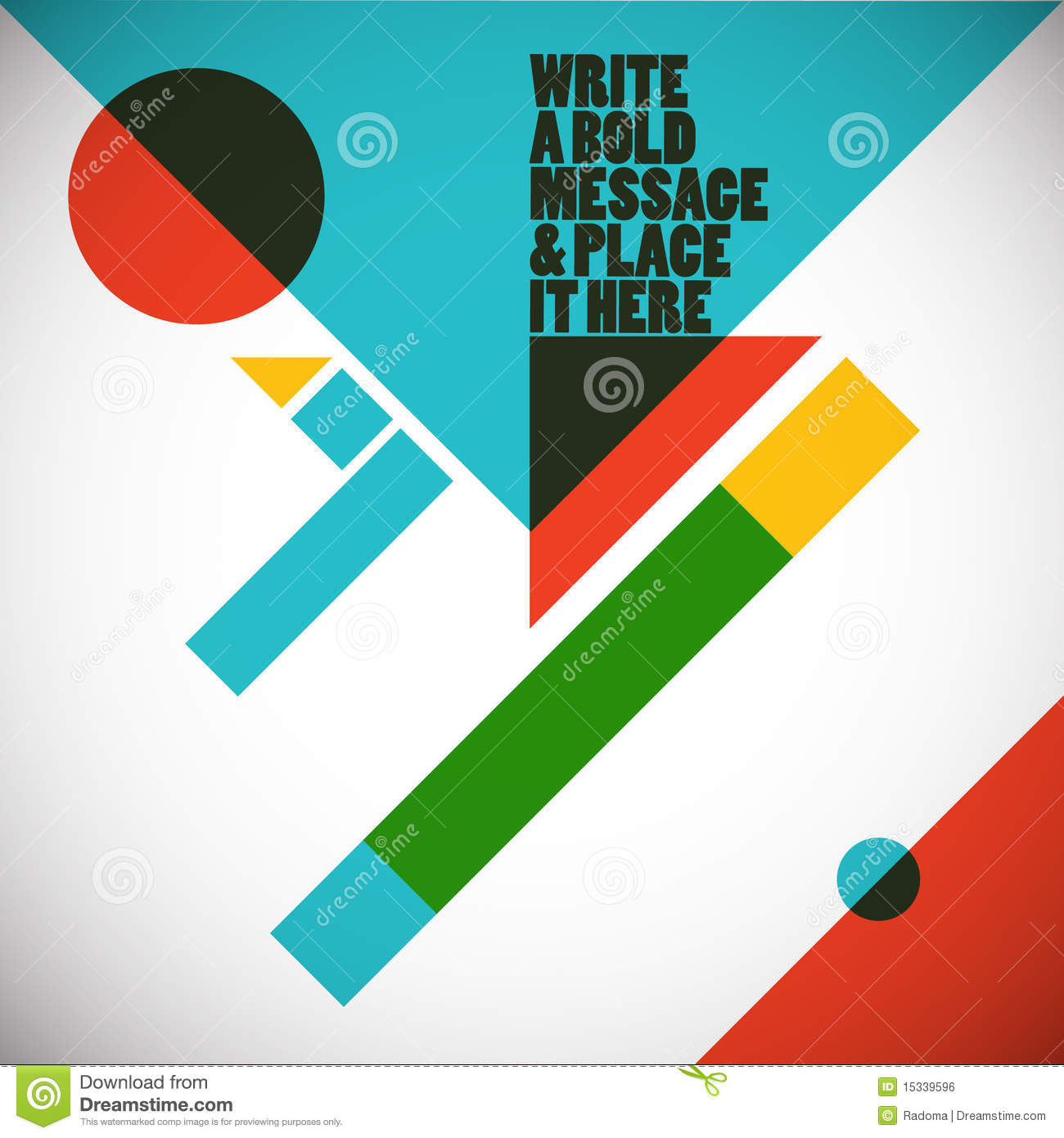 Abstract Geometric Composition Royalty Free Stock Image - Image ...