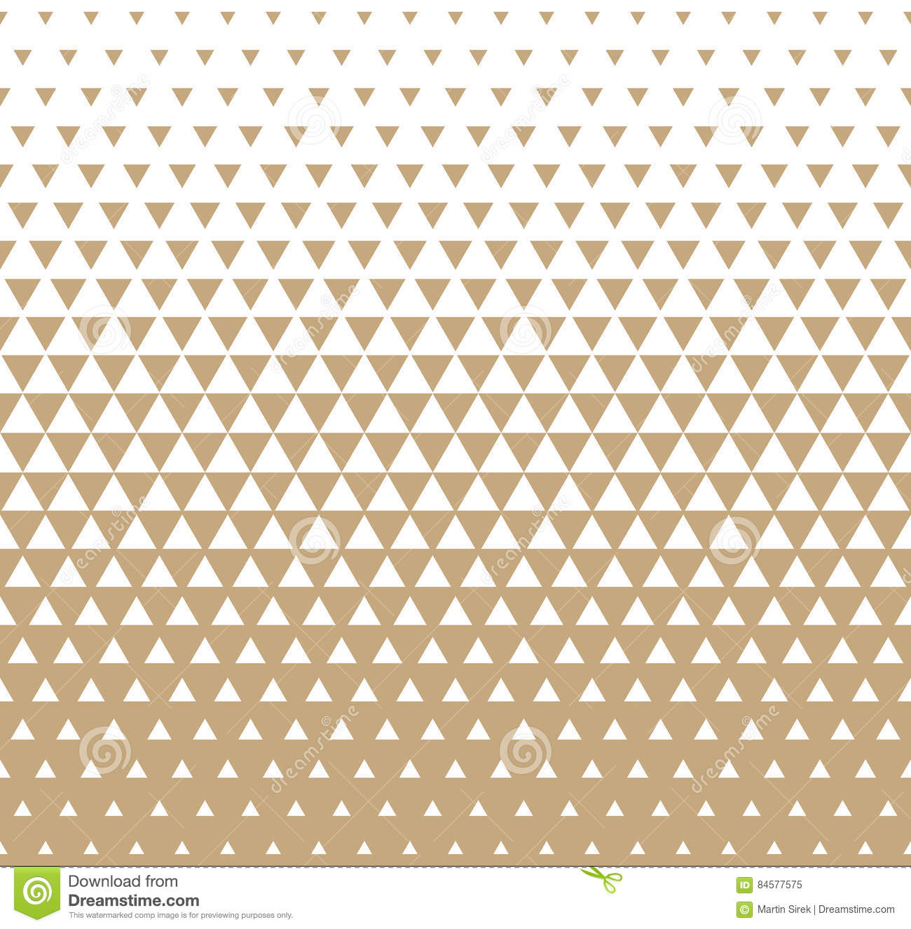 Color halftone printing - Abstract Geometric Golden Graphic Design Print Triangle Halftone Pattern