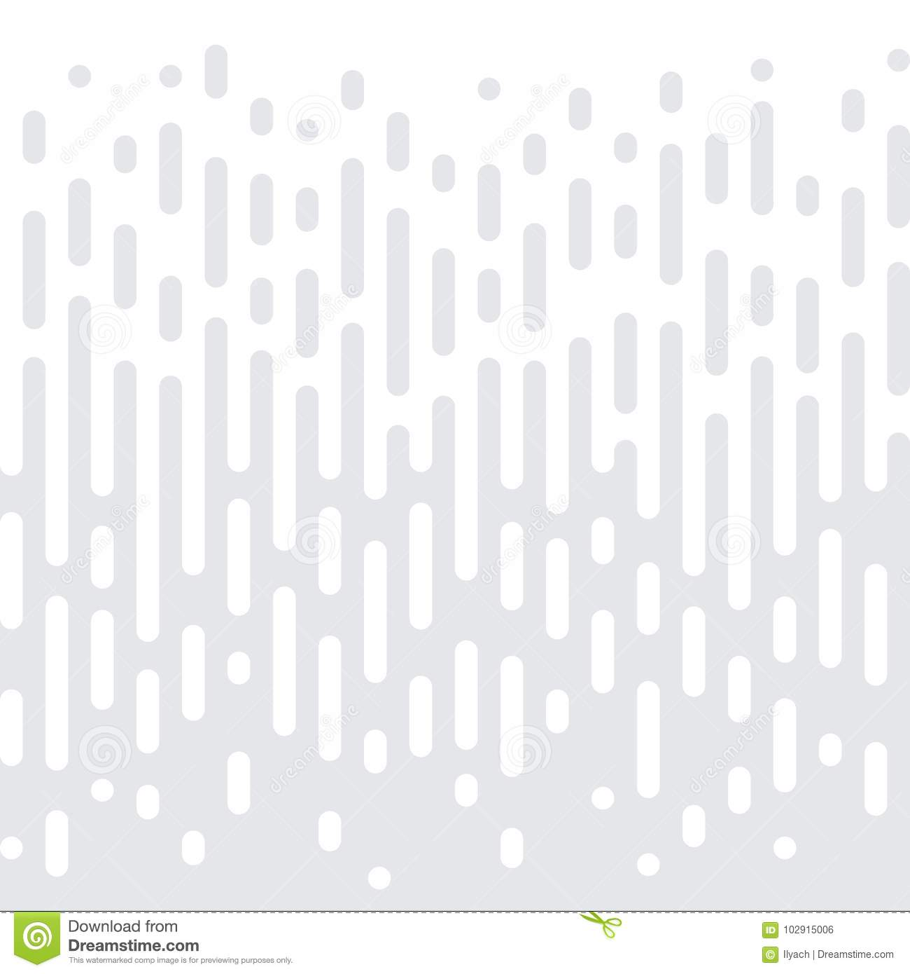 Abstract geometric halftone seamless pattern vector white minimal gradient texture background