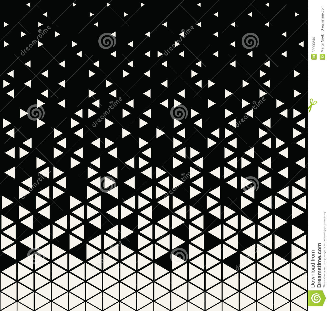 Abstract Geometric Hipster Fashion Design Print Triangle Pattern Stock Vector Illustration Of Print Halftone 83900244