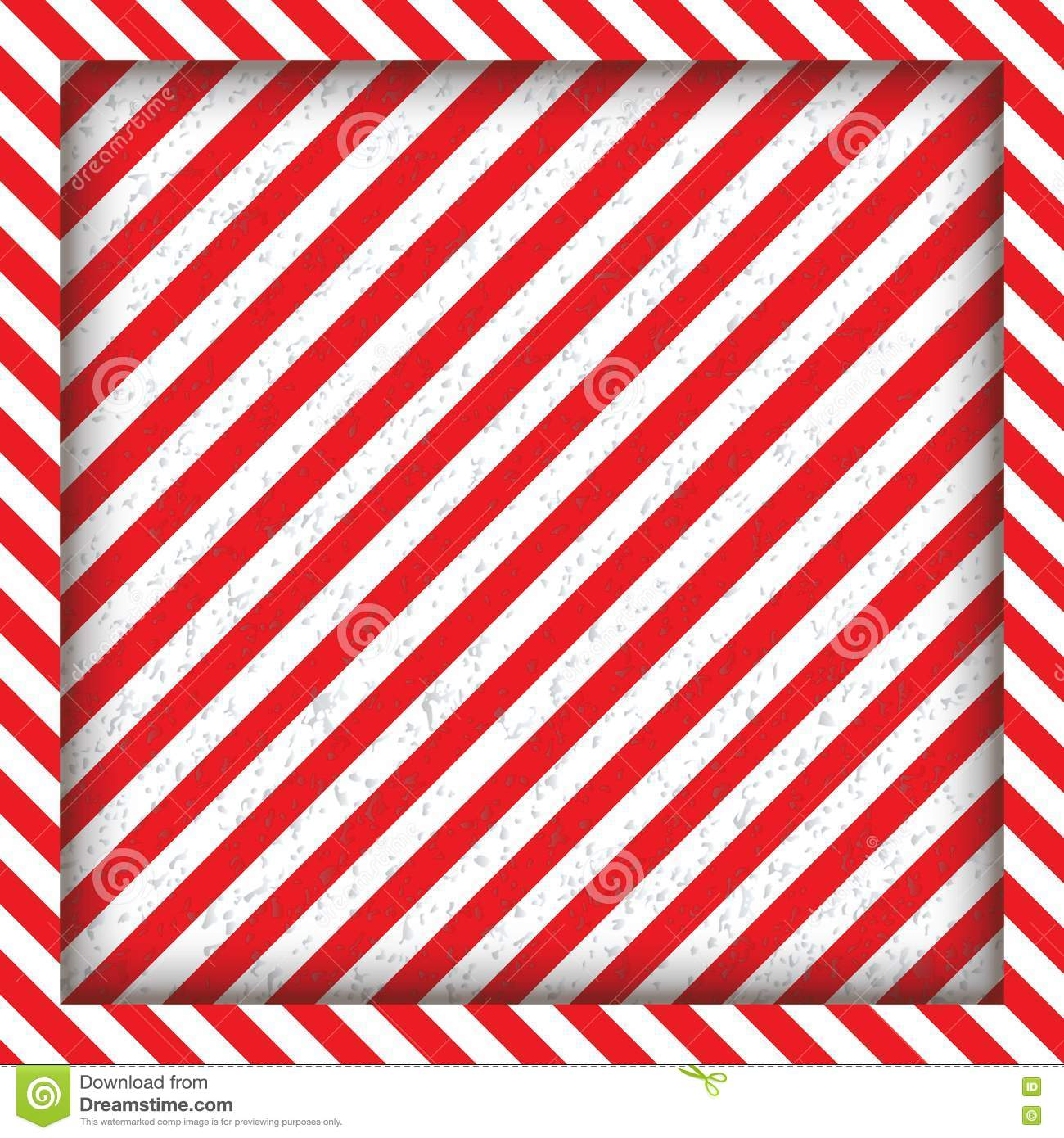 Abstract Geometric Lines With Diagonal Black And Red Stripes The