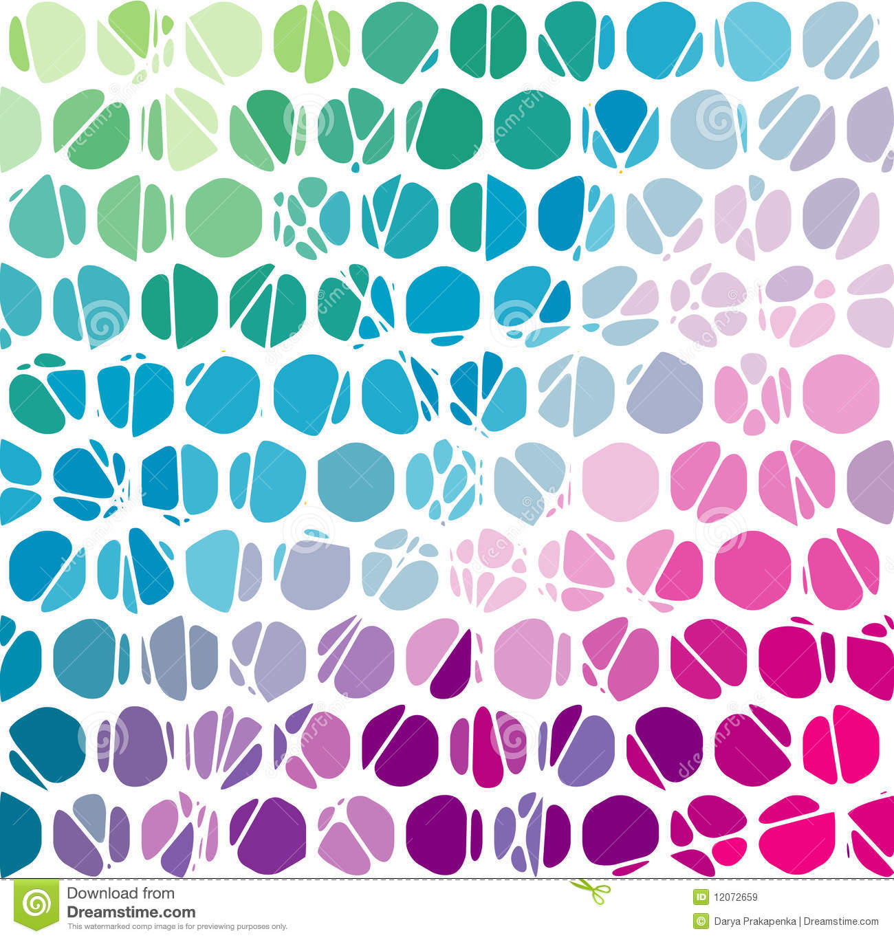 Abstract Geometric Mosaic Background Vector Illus Stock