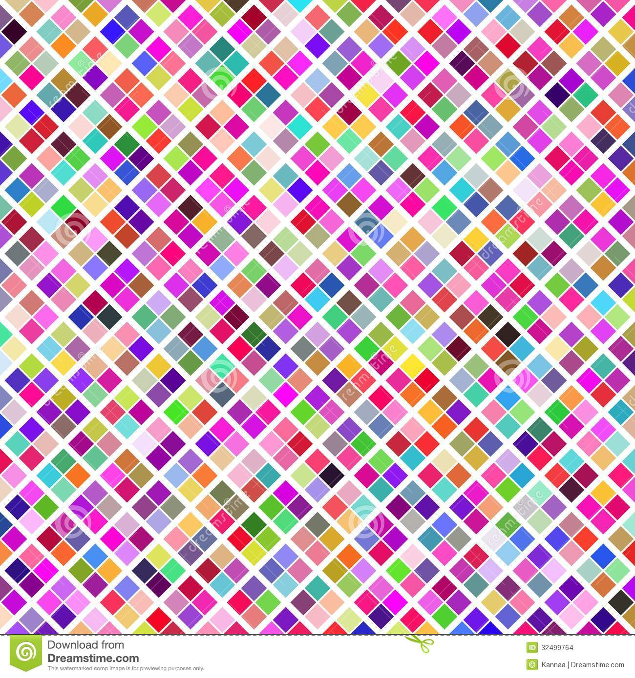 Abstract Geometric Pattern Background. Colorful Stock