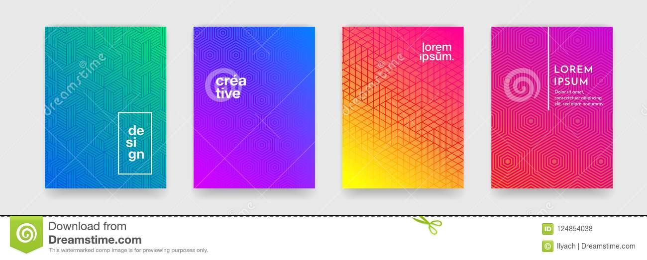 Abstract geometric pattern background with line texture for business brochure cover design poster template