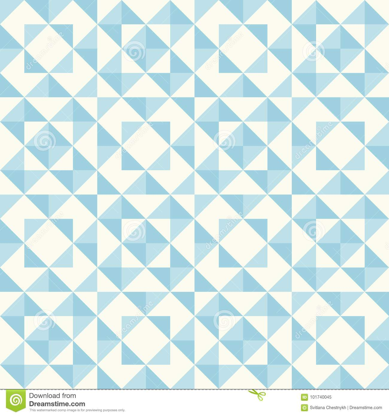 Abstract Geometric Pattern Patchwork Quilting Stock Vector