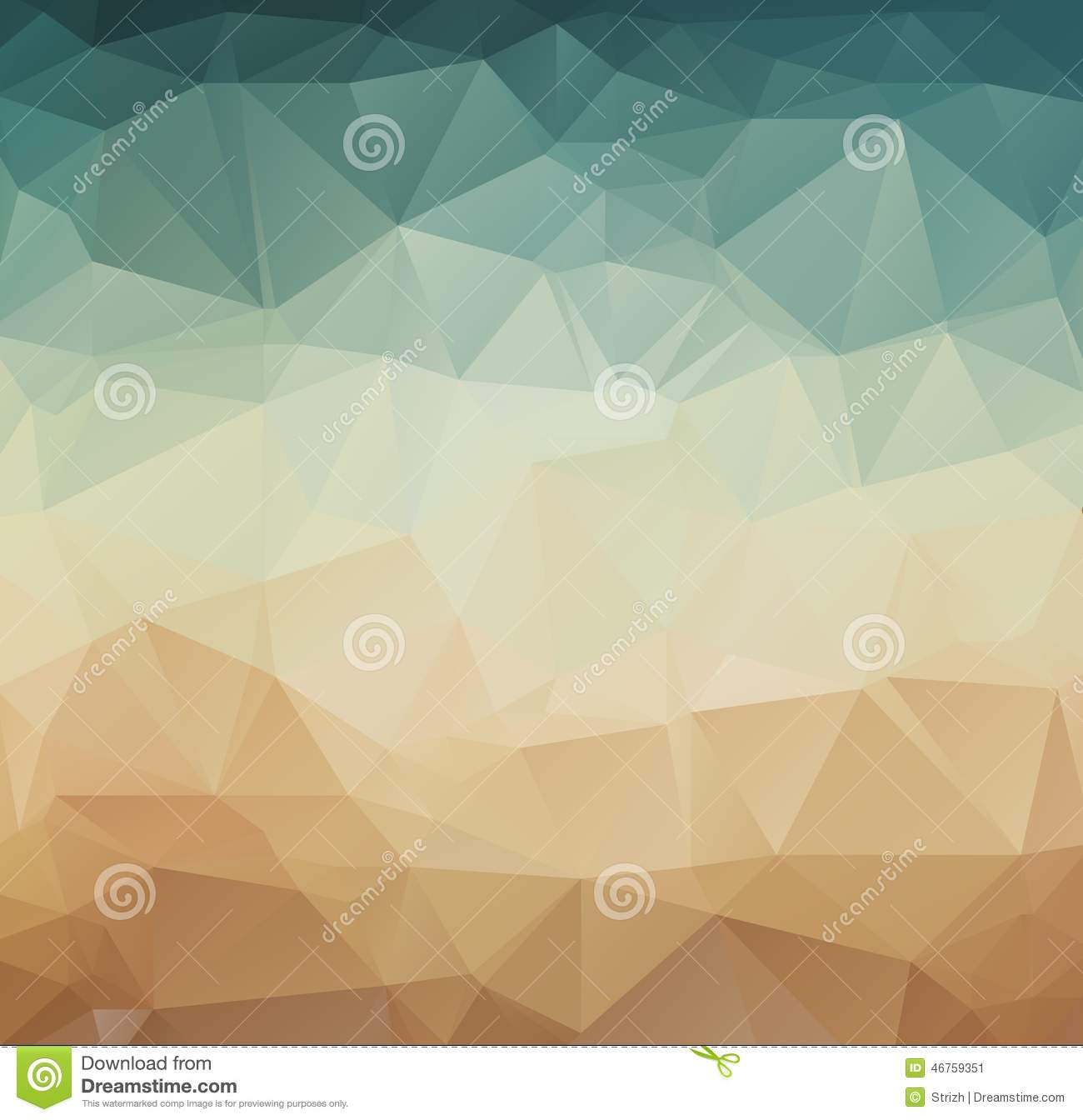 Abstract Geometric Pattern Retro Background Stock Vector ...