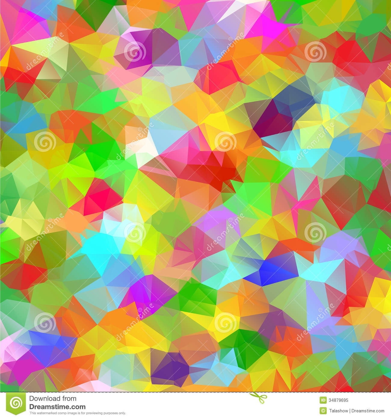 abstract polygonal colorful background - photo #4