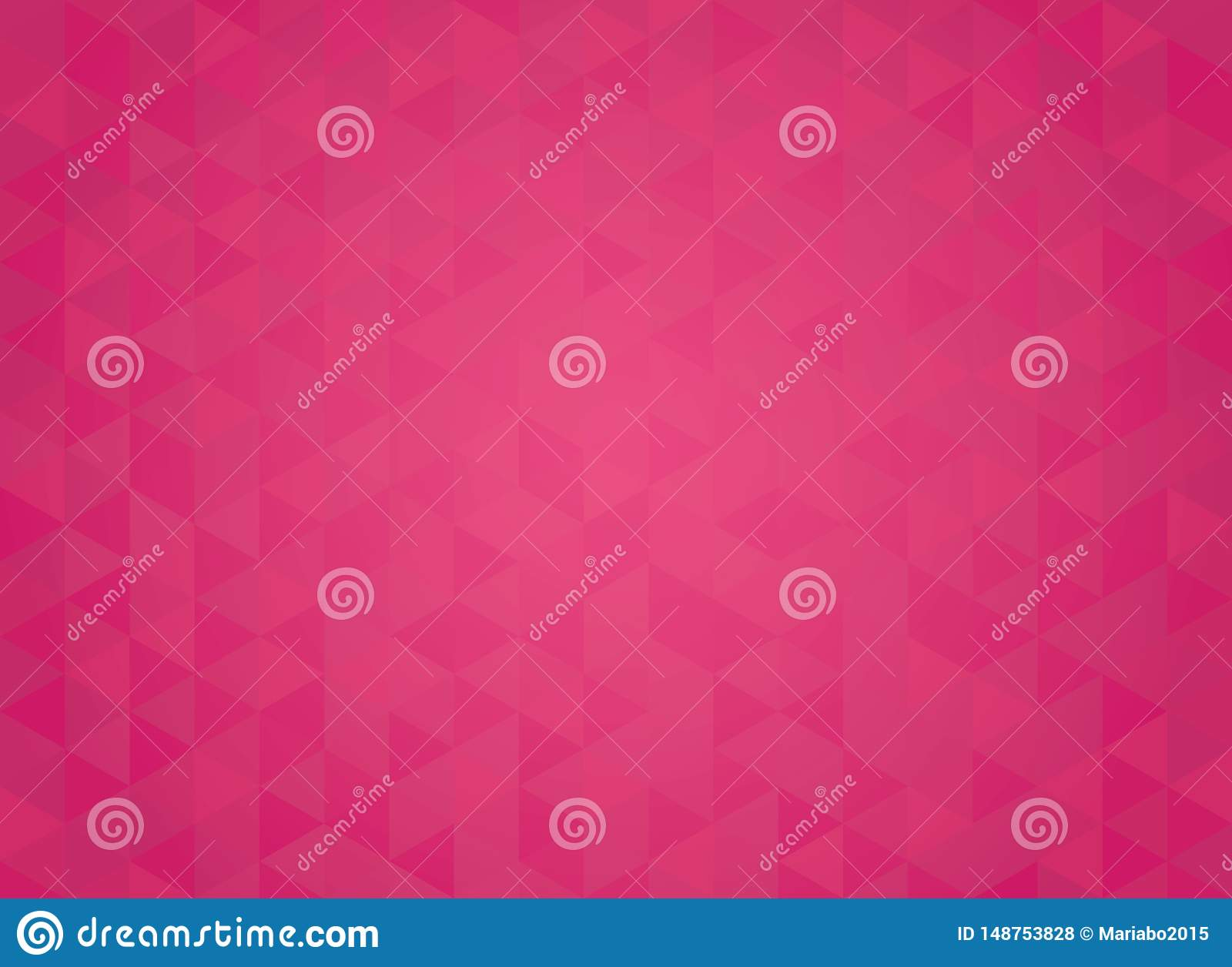 Abstract geometric red gradient background