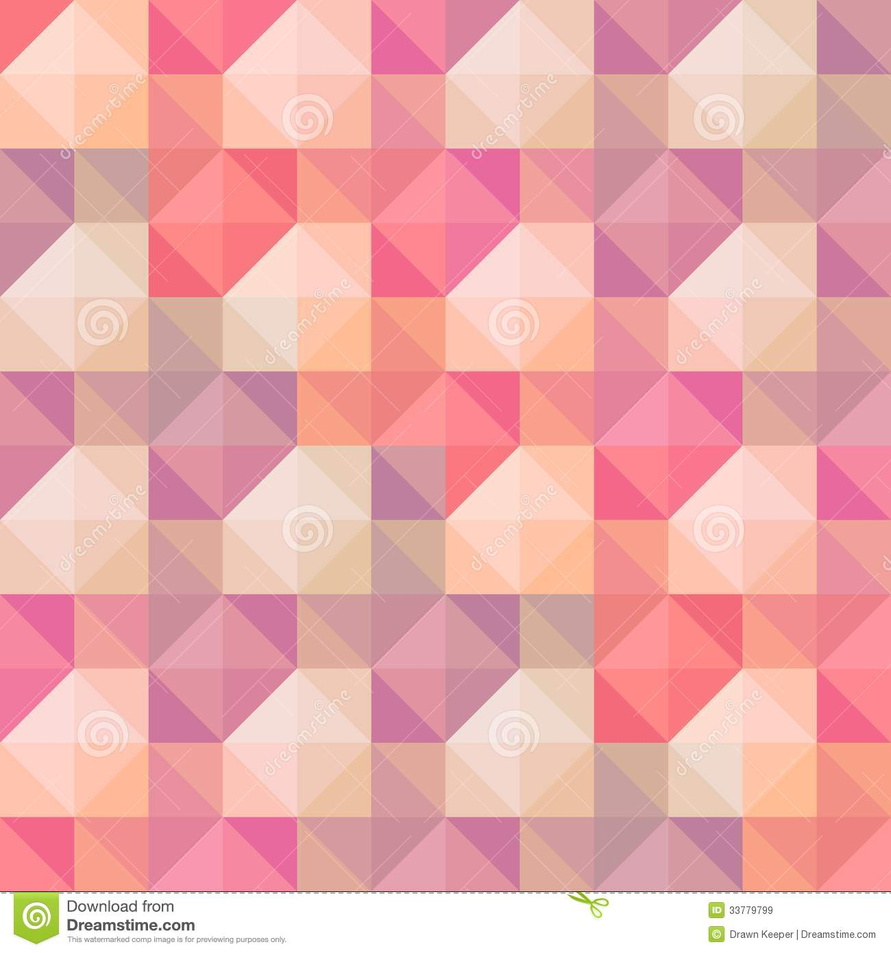 Abstract Geometric Shapes Pattern Royalty Free Stock