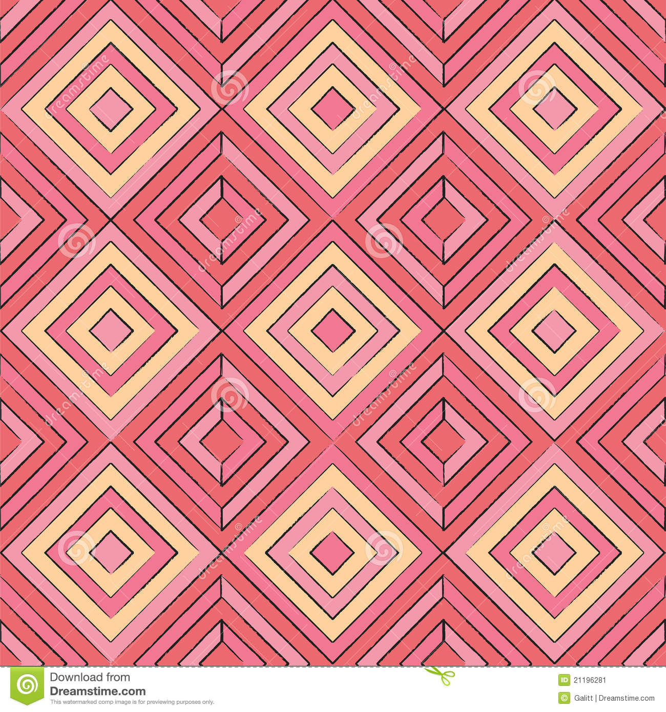 Geometric Art Coloring Pages #6