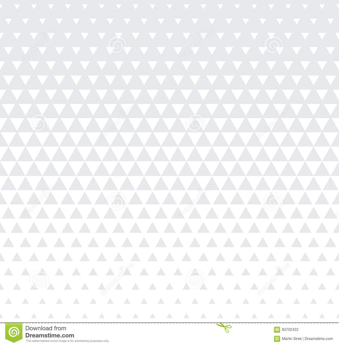 Abstract Geometric Subtle Graphic Design Print Triangle Halftone Pattern Stock Vector