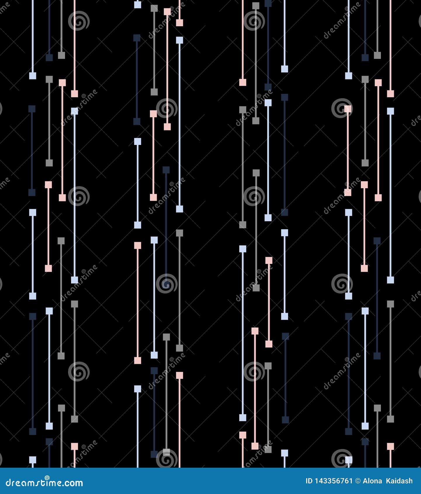 Abstract geometrisch gestalte gegeven behangpatroon voor uw ontwerp