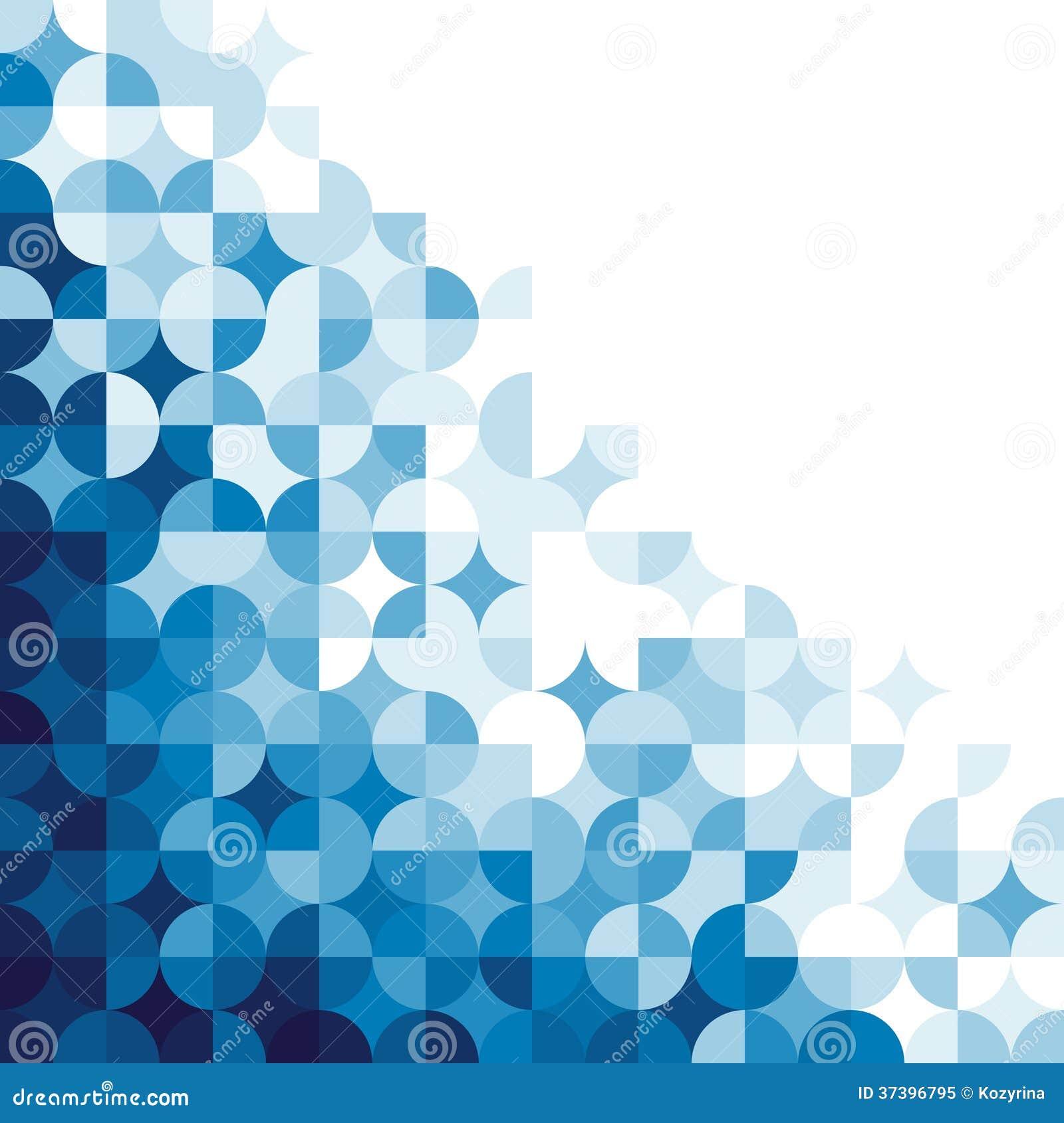 Abstract geometrisch patroon.