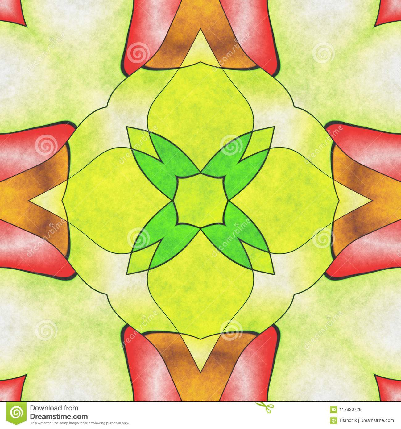 Abstract Geometry Ornate- Home Decor Stock Illustration ...