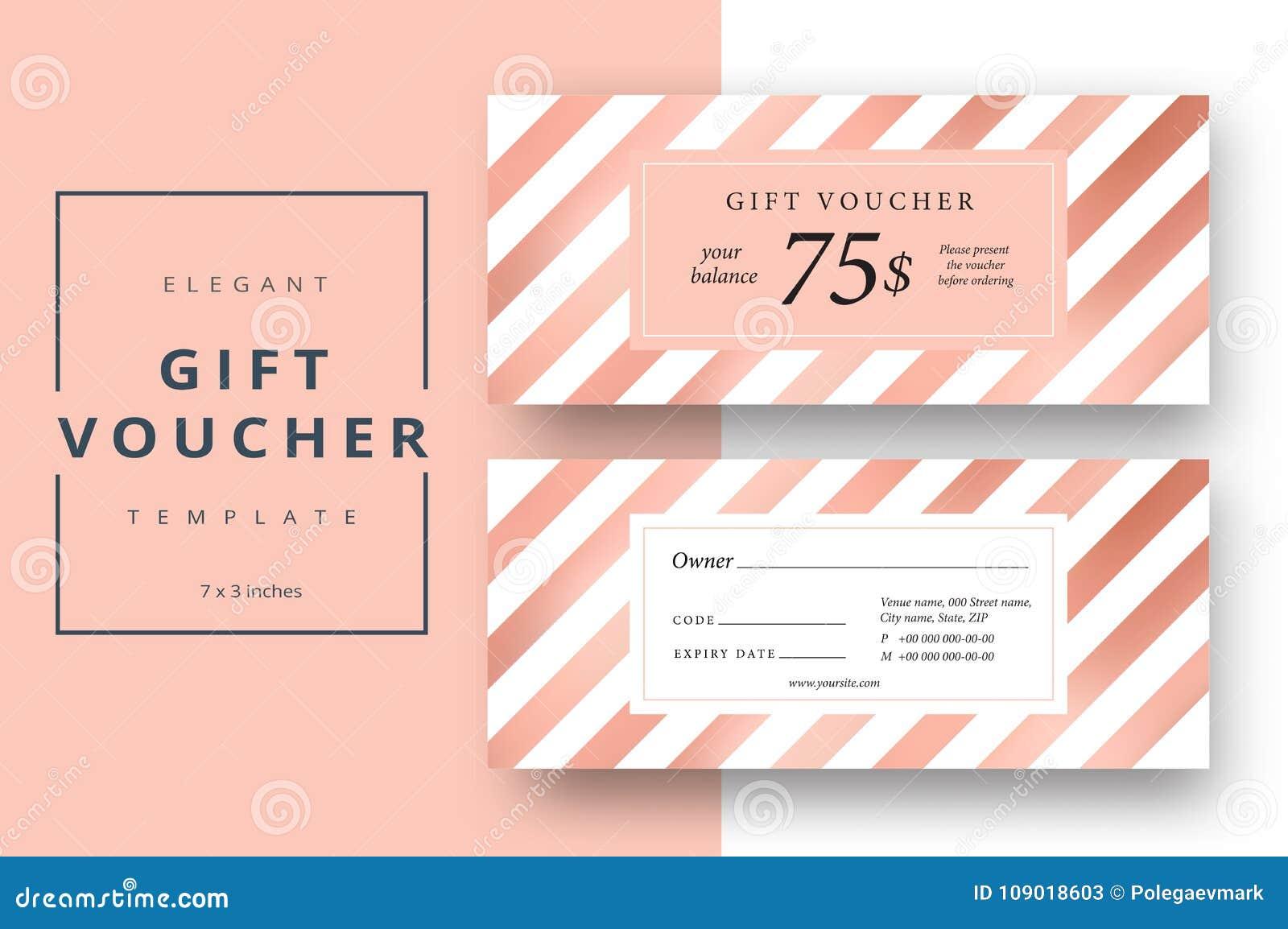 Voucher Card Template tax templates
