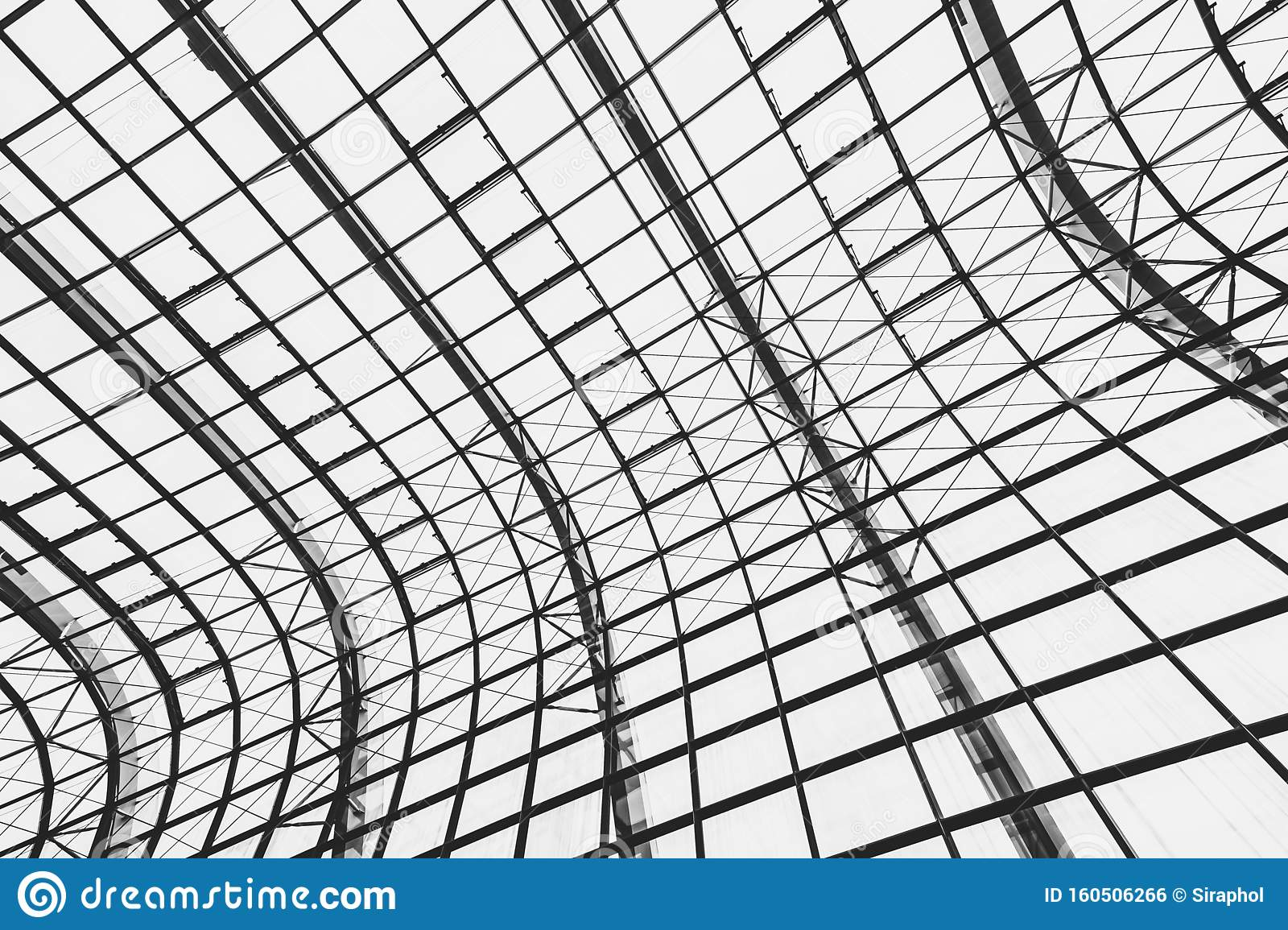 Abstract Glass Window Roof Architecture Exterior Stock Photo Image Of Interior Frame 160506266
