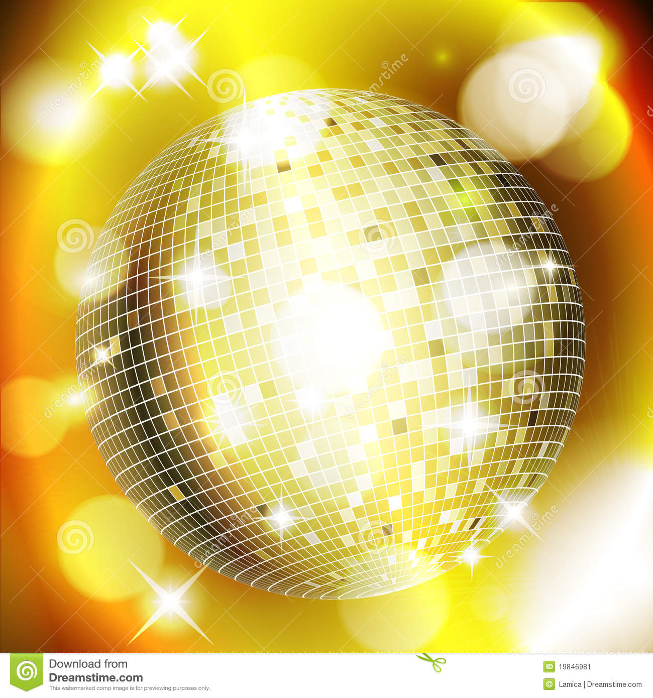 Gold Disco Ball Background | www.imgkid.com - The Image ...
