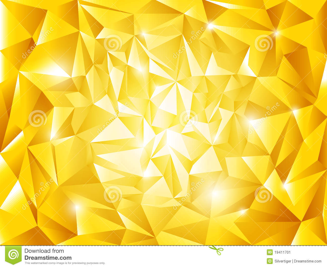 abstract golden vector background stock vector image