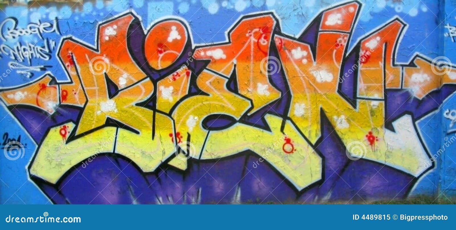 Abstract Graffiti Wall Royalty-Free Stock Photo | CartoonDealer.com ...