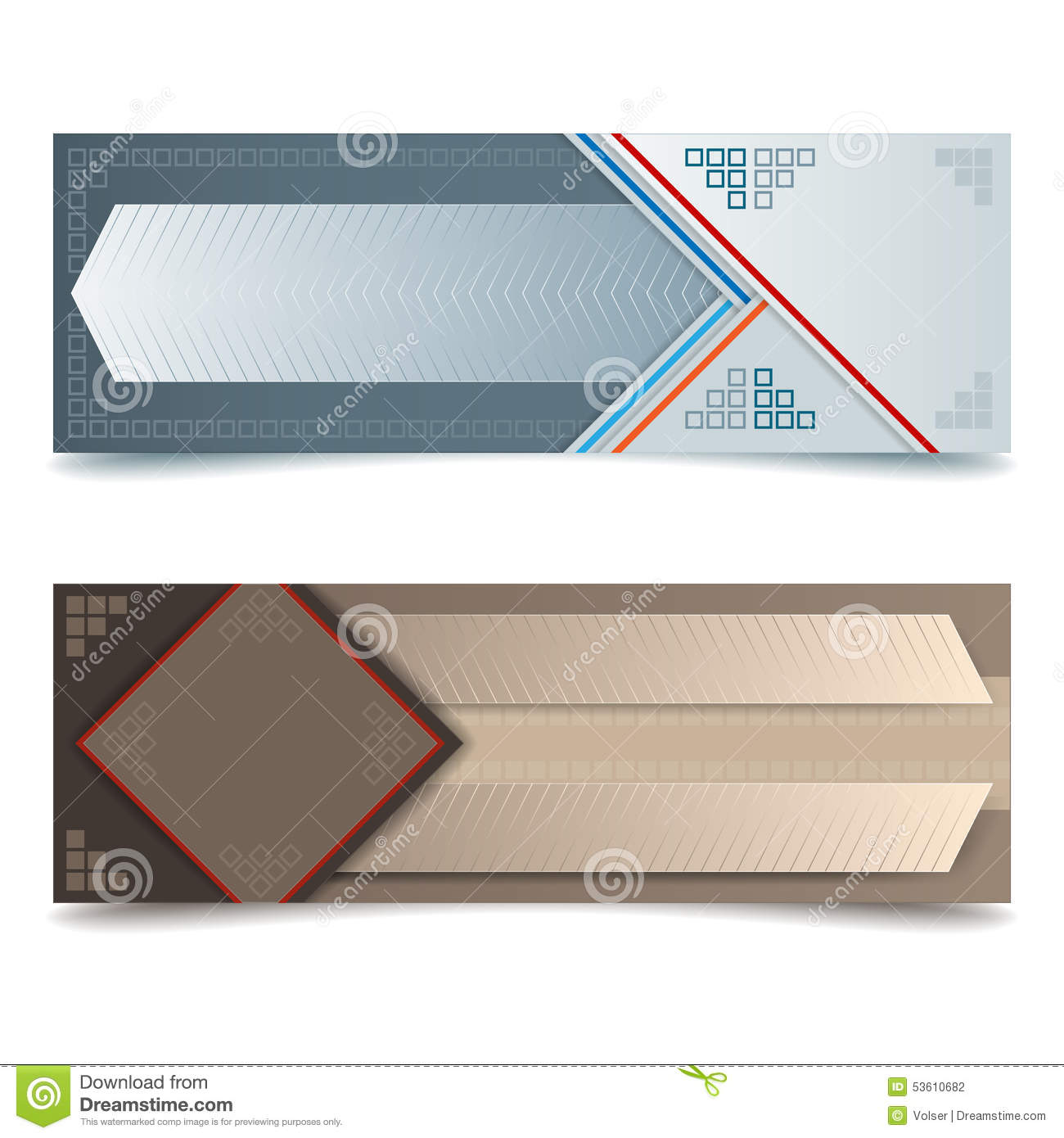 Abstract graphic design web banner stock vector image - Text banner design ...