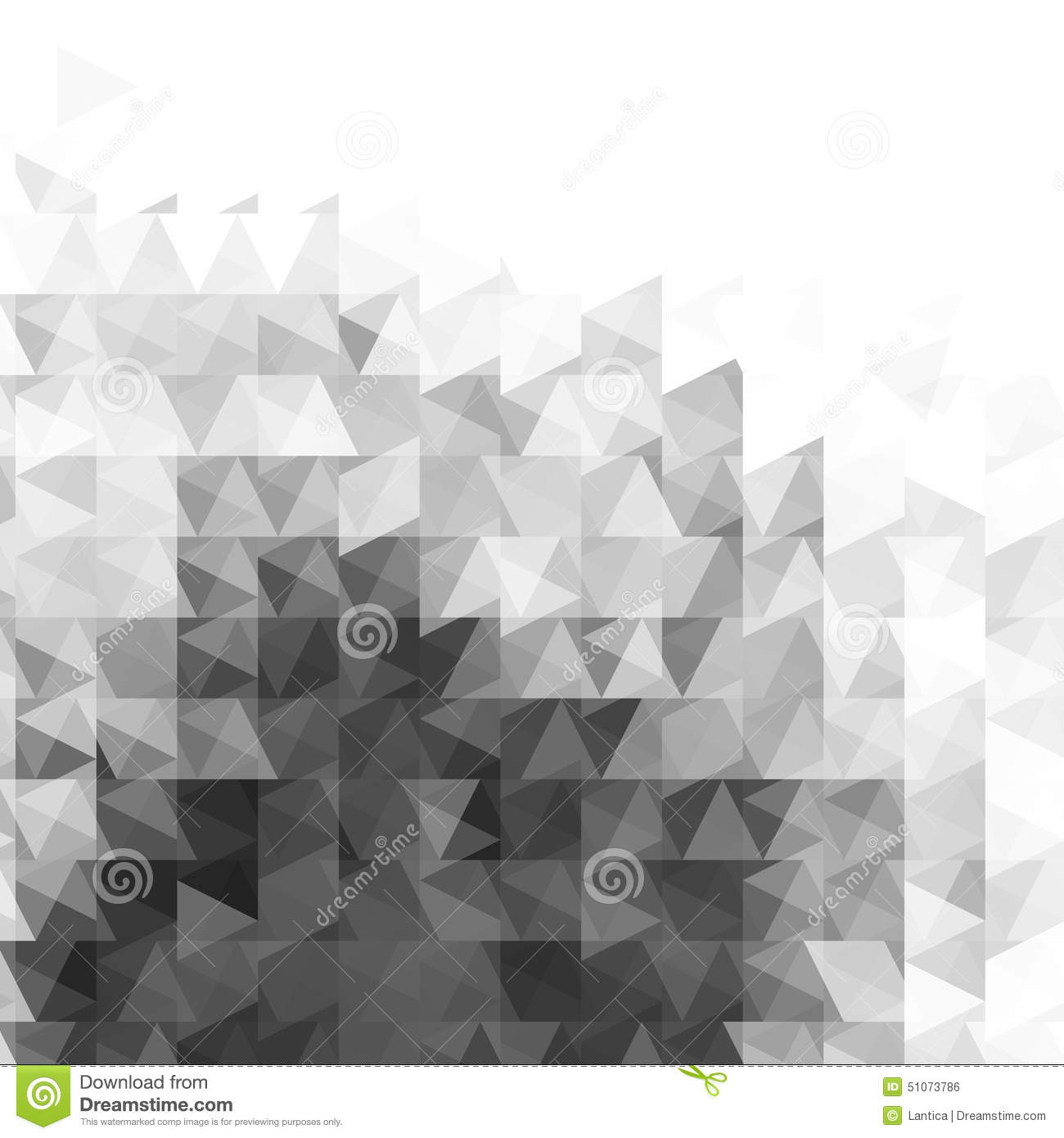 Abstract Grayscale Light Template Background Stock Vector ...