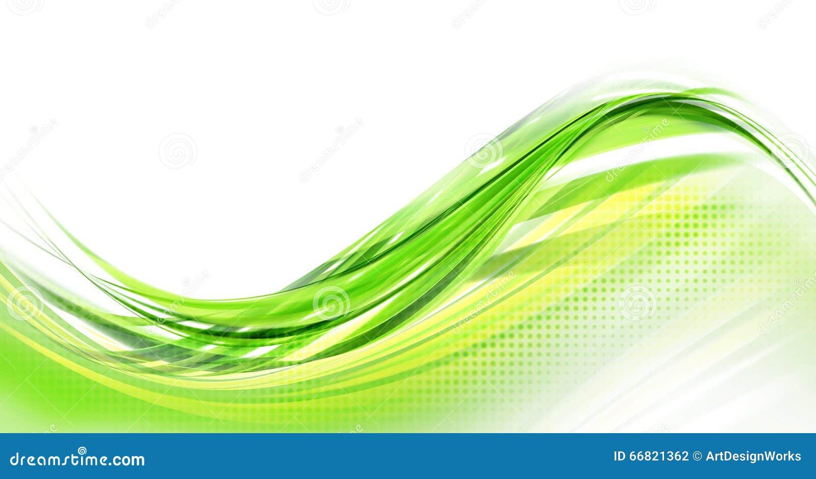 Abstract Green Background Modern Design Stock Illustration