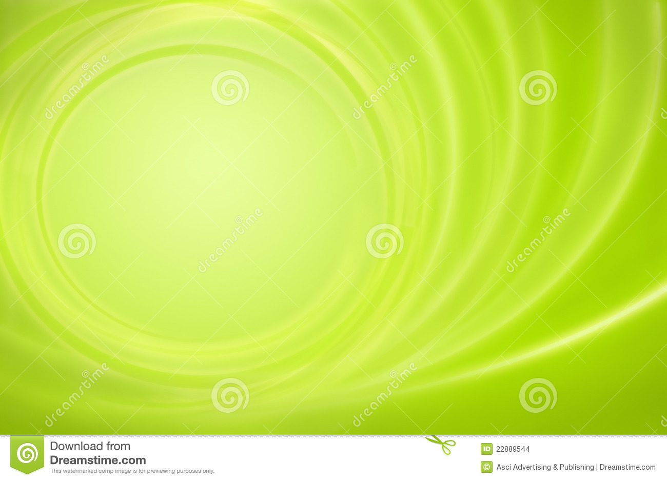 Abstract green background power energy storm circl