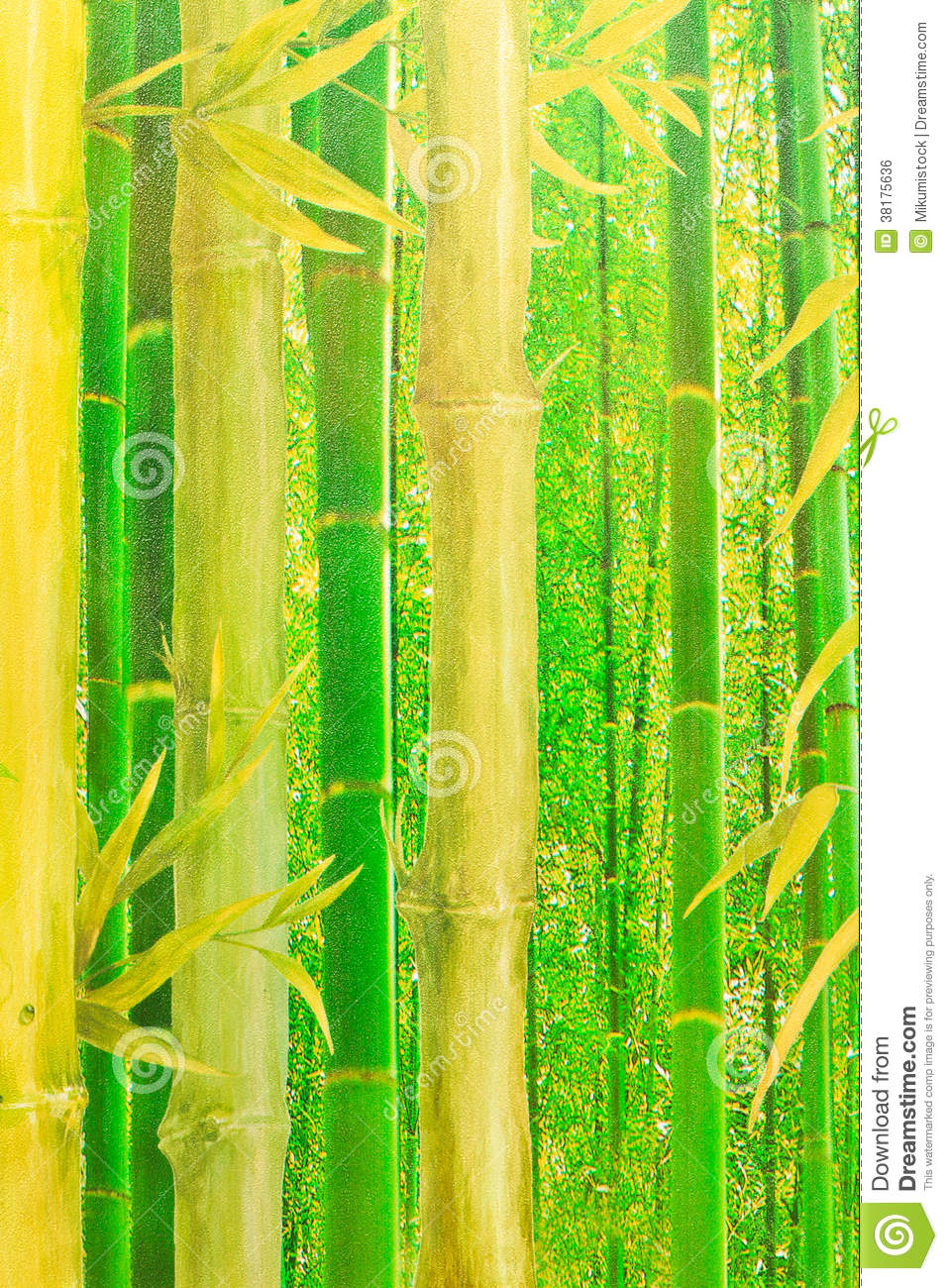 Abstract Green Bamboo Wallpaper Royalty Free Stock Image ...