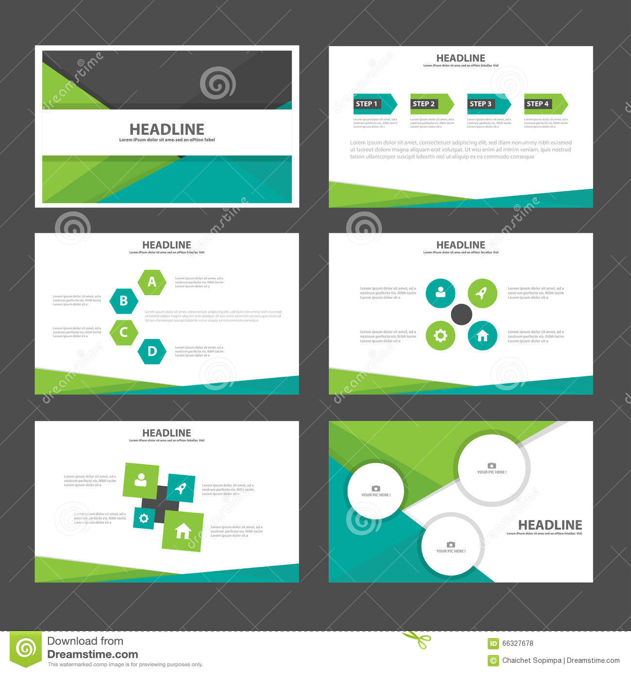 Set Powerpoint Template