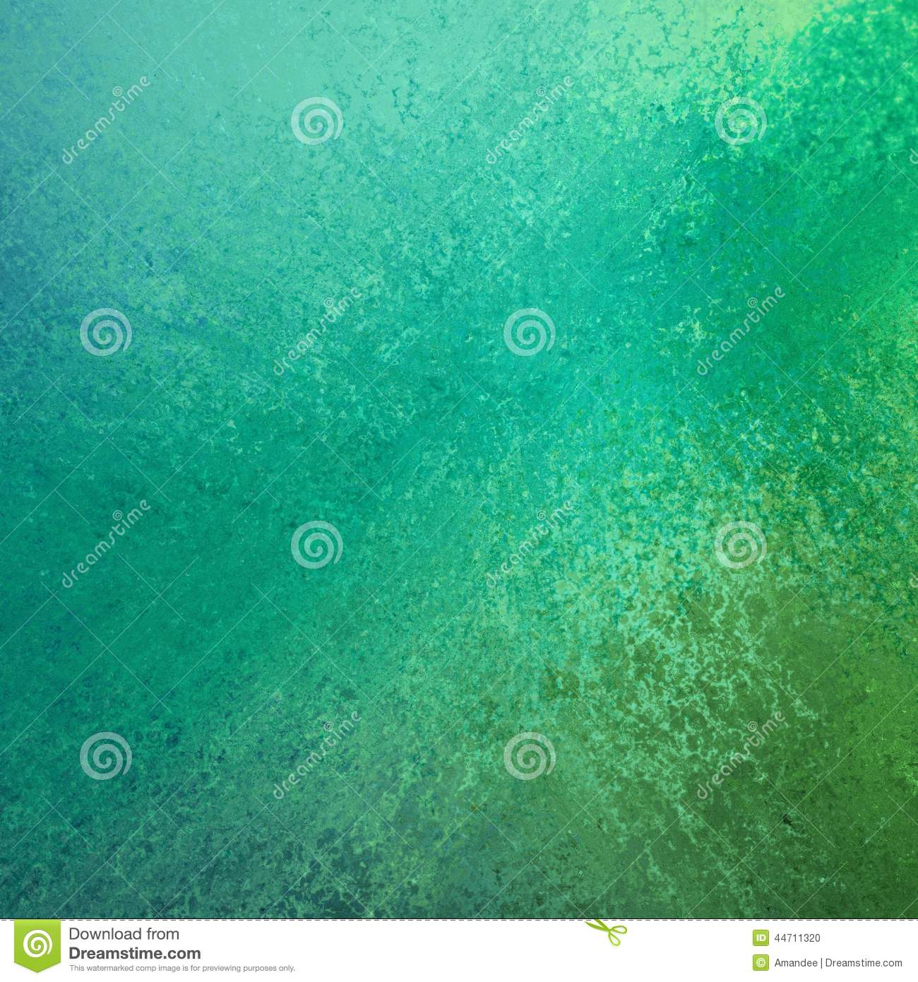 Bluish Green Color Abstract green and blue color