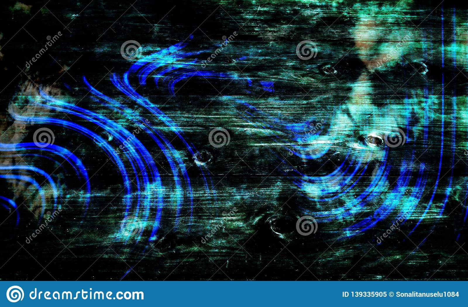 Abstract green and blue shaded textured background with lighting effects. wallpaper.
