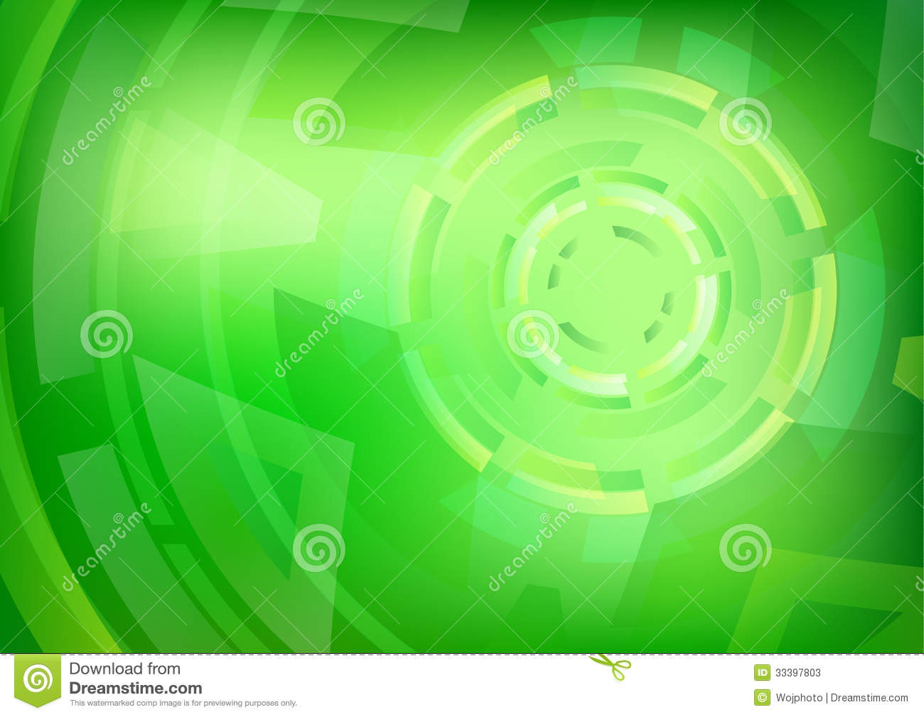 Galerry Green Circle Front Page Background Free Wallpaper