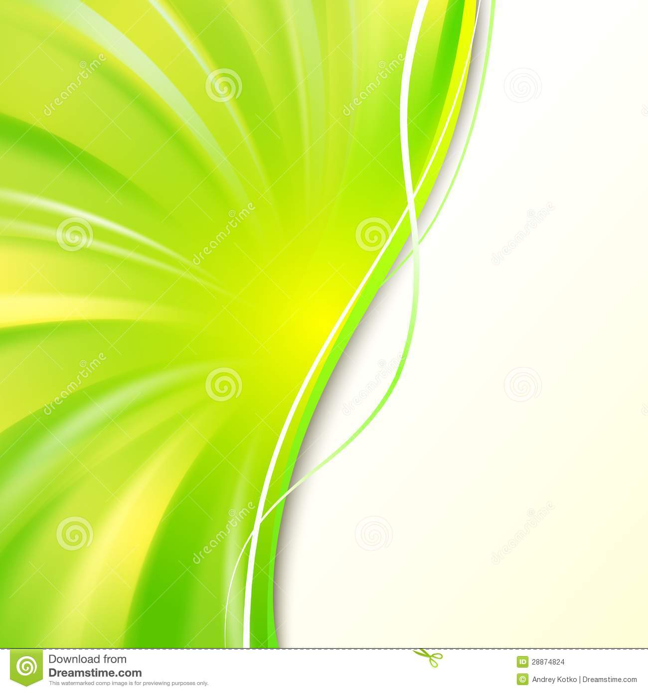 abstract green cover stock images image 28874824