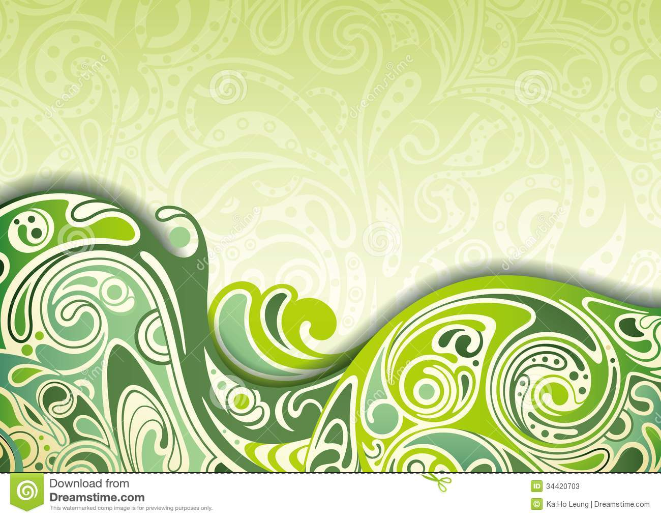 Abstract green curve background stock photos image 34420703 for Green design company