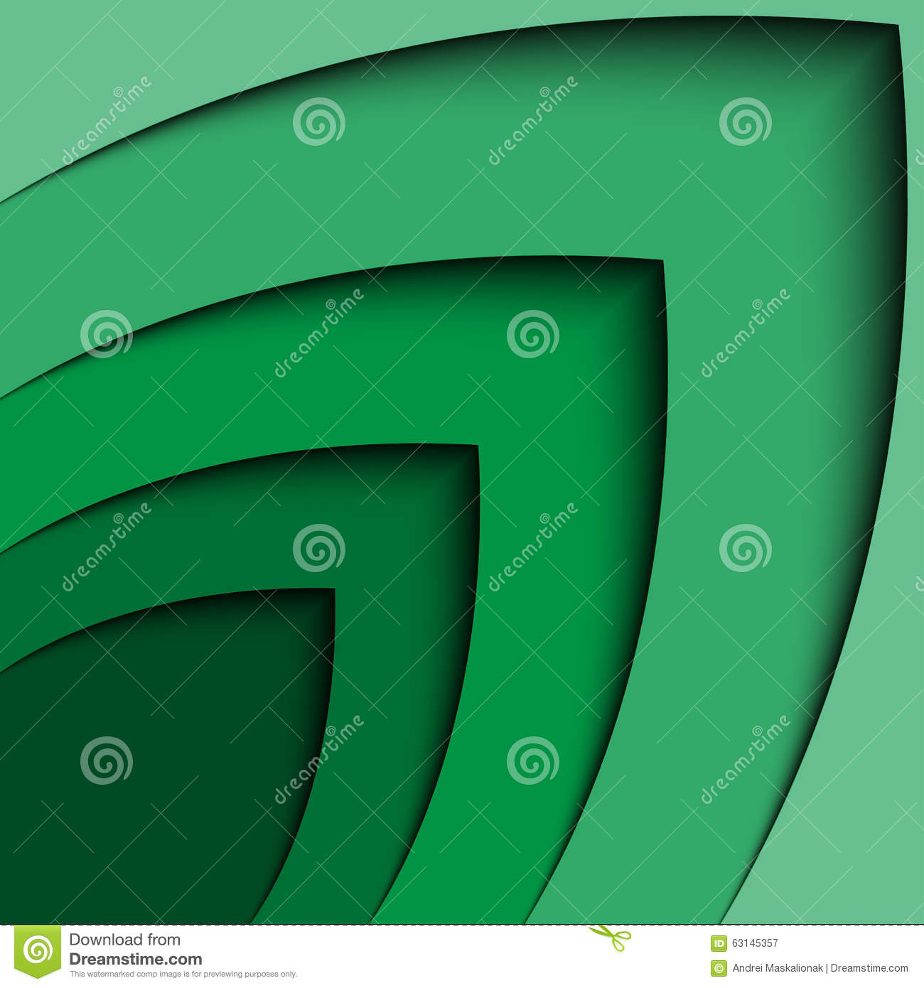 abstract green 3d arrow wave line certificate abstract